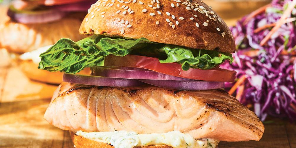 Sandwichs-au-saumon-grillé